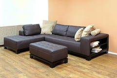 Narożnikowa kanapa Zdjęcia Stock