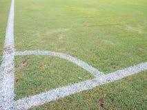 narożnikowy futbol Obraz Royalty Free