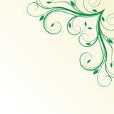 narożnikowy kwiecisty Obraz Royalty Free