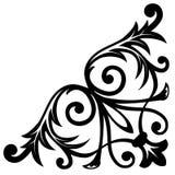 narożnikowy ornament Zdjęcie Stock