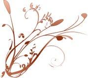 narożny kwiatek Zdjęcie Stock