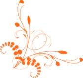narożny kwiatek Obrazy Royalty Free