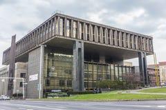 Narodni museum in prague. View of narodni museum in prague, czech republic Royalty Free Stock Image