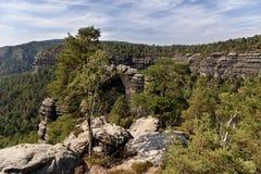 Narodni park Ceske Svycarsko Royalty Free Stock Photography