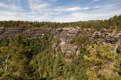 Narodni park Ceske Svycarsko. Pravcicka Brana in the Czech Republic.Narodni park Ceske Svycarsko Stock Image