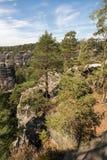 Narodni park Ceske Svycarsko. Pravcicka Brana in the Czech Republic.Narodni park Ceske Svycarsko Royalty Free Stock Images