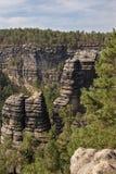 Narodni park Ceske Svycarsko Royalty Free Stock Image