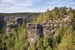 Narodni park Ceske Svycarsko Stock Photography