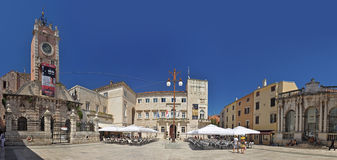 Narodni trg in Zadar Royalty Free Stock Images