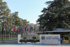Narody Zjednoczone Zdjęcie Royalty Free