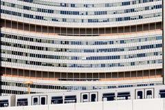 Narody Zjednoczone buduje zakończenie w górę Wiedeń Zdjęcie Royalty Free