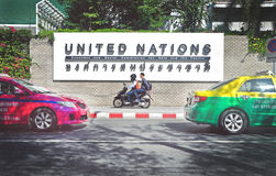 Narody Zjednoczone Economcis i socjalny prowizja dla (USA ESCAP) Fotografia Stock
