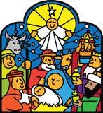 narodzenie jezusa Fotografia Royalty Free