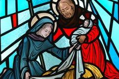 narodzenie jezusa Obrazy Royalty Free