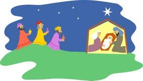 narodzenie jezusa ilustracji