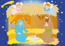 narodzenie jezusa Zdjęcie Stock