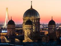 Narodzenie Jezusa Chrystus katedra w Ryskim Obrazy Royalty Free