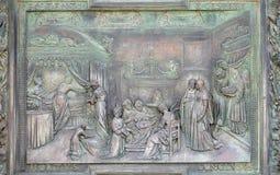 Narodzenie Jezusa dziewica Obraz Stock