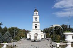 Narodzenie Jezusa katedra w Kishinev ChiÈ™inău Moldova Zdjęcie Stock