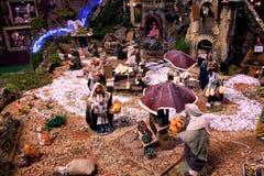 Narodzenie Jezusa scena Fotografia Stock