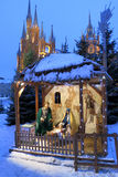 Narodzenie Jezusa scena Zdjęcie Royalty Free