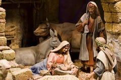 narodzenie jezusa scena Obrazy Royalty Free