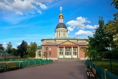 Narodzenie Jezusa Starzy wierzący Kościelni w Rogozhskaya Sloboda moscow obraz stock