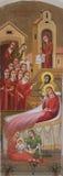 Narodzenie Jezusa Theotokos Fotografia Royalty Free