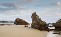 Narooma Accretionary Complex - Glasshouse Rocks Royalty Free Stock Image