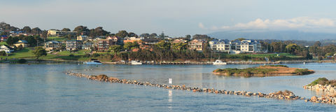 Narooma panorama Royalty Free Stock Images