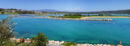 Narooma Panorama Royalty Free Stock Photos