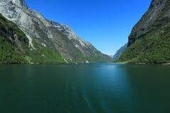 Naroyfjorden Royalty Free Stock Photo