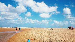 Narrabean beach, Australia. Narrabeen Beach is one of Australia's iconic surfing and swimming beaches royalty free stock images