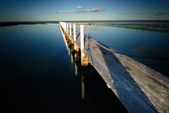 Narrabeen Bridge. This was taken in Narrabeen, NSW during winter time Royalty Free Stock Images