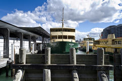 Narrabeen Ferry Circular Quay Sydney. The iconic Manly Ferry Narrabeen docked at Circular Quay in Sydney Harbour Royalty Free Stock Photography