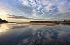 Narrabeen reflexioner Fotografering för Bildbyråer