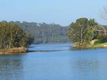 Narrabeen sjö royaltyfri fotografi
