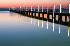 Narrabeen-Sonnenaufgang Stockbilder