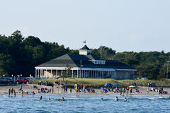 Narragansett Town Beach Royalty Free Stock Image