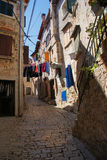 Narrow alley Royalty Free Stock Images