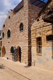 Narrow Alley. With Old Buildings  In Kabbalah City Of Safed Royalty Free Stock Photo