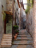 Narrow alley Stock Image