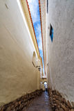 Narrow Alley in Cusco Stock Photography
