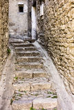 Narrow Alley In Gordes Stock Images