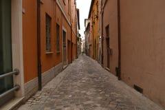 Narrow alley in Italy Royalty Free Stock Photo