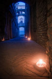 Narrow alley in Italy Royalty Free Stock Photography