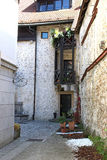Narrow Alley in Kamnik Royalty Free Stock Images