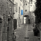 Narrow Alley Stock Photography