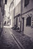In a Narrow Alley of the old Town of Cassis, France Royalty Free Stock Photos