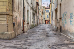 Narrow alley in the old town Stock Photography